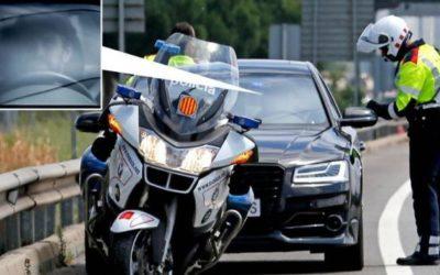Cazan a Gerard Piqué a 190 km/h por Barcelona